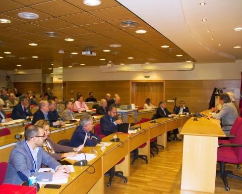 Sala de conferencias e el V Congreso de FESPA España