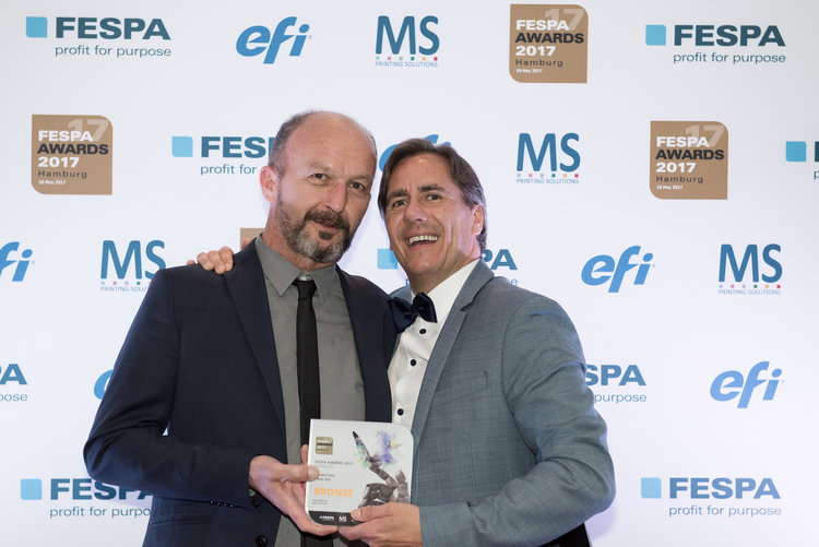 Entrega Fespa Awards 2017