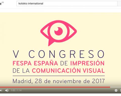 Vídeo Congreso FESPA España