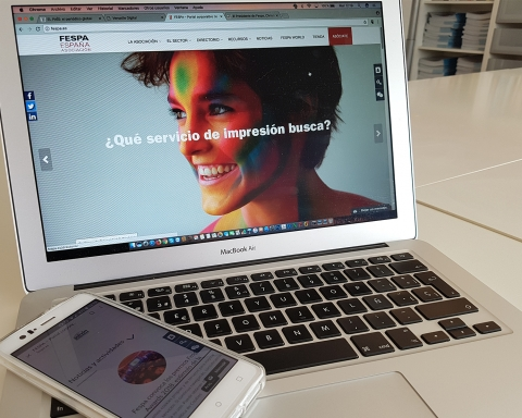 Nueva web FESPA España