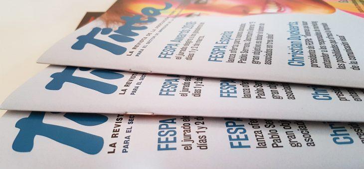 Ya está disponible el cuarto número de Tinta, la revista de FESPA España
