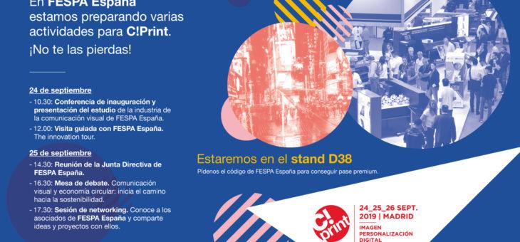 FESPA España en C!Print 2019