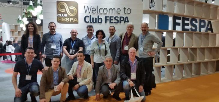 Un grupo de asociados de FESPA España visitará FESPA Global Print Expo con el pack de viaje de la asociación