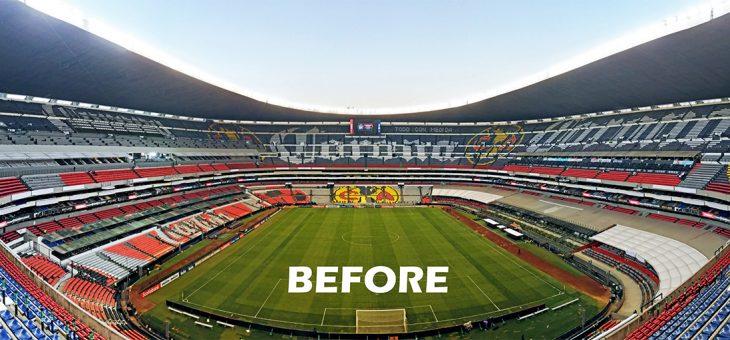 El estadio Azteca elige a Molcaworld para su cambio de imagen de cara al Mundial de 2026